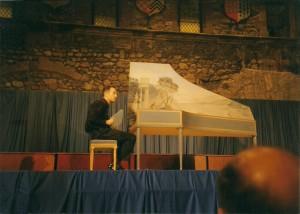 JP Duclos - Concert château de Tournon