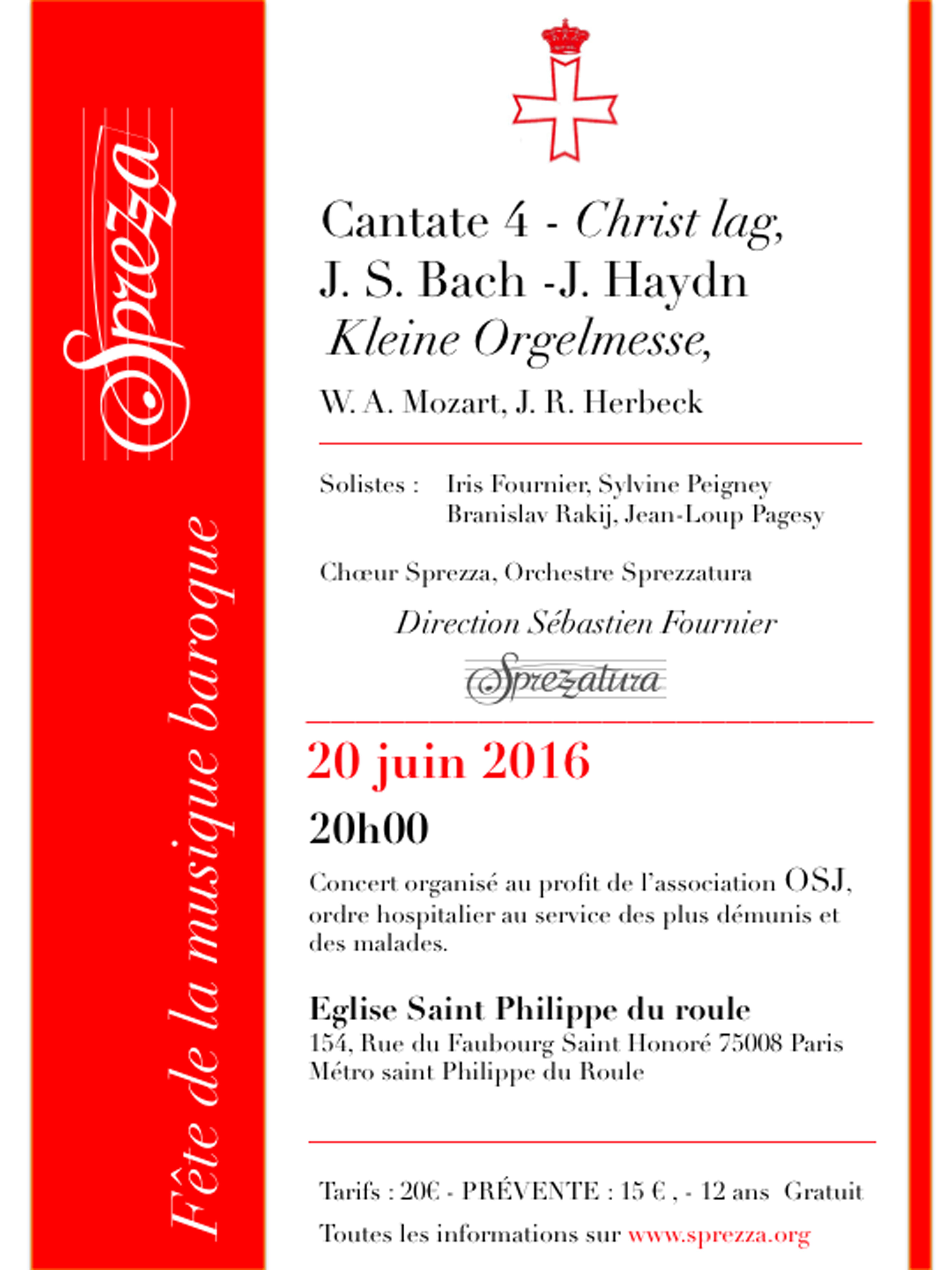 Affiche Concert Sprezza 20 juin 2016 V2
